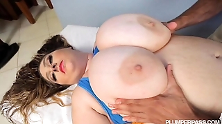 BBW April McKenzie Takes A Big Black Cock in Her Ass