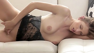 Huge vibrator yon her unbelievable pussy