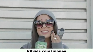 Her pussy earns them money for living 28